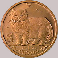 Isle of Man Gold Crown