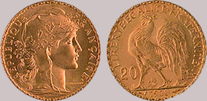 gold-coins-france20f Gold coins we trade with | Sell gold coins made easy